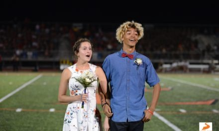 Loveland homecoming king, queen react to winning title