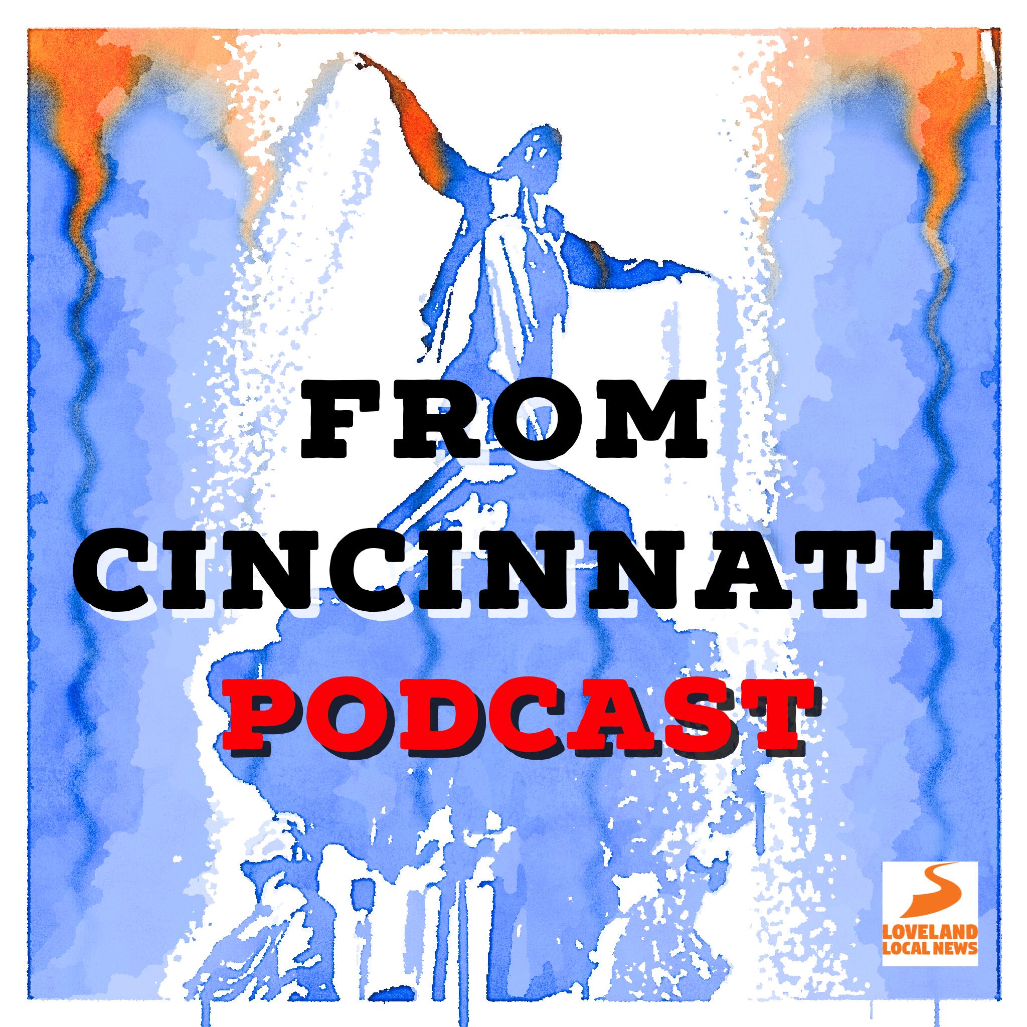 From Cincinnati Podcast Album Cover Art